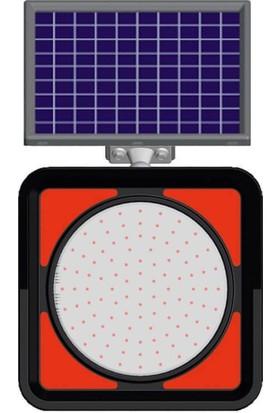 Evelux Solar Ledli Flaşör Lamba