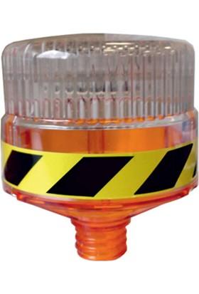 Evelux 11819 Fl S Solar Led'Li Flaşör Lamba(Sarı)