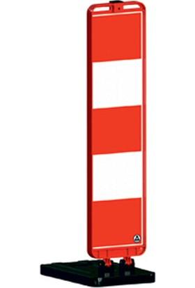 Evelux 12410 Db R Katlanır Uyarı Levhası(Soketli) 480X250X1200Mm
