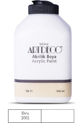 Artdeco Akrilik Ahşap Boyası 500 ml 3002 Ekru