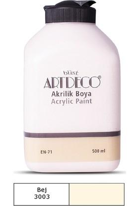 Artdeco Akrilik Ahşap Boyası 500 ml 3003 Bej