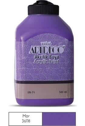 Artdeco Akrilik Ahşap Boyası 500 ml 3608 Mor