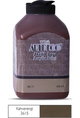 Artdeco Akrilik Ahşap Boyası 500 ml 3615 Kahverengi