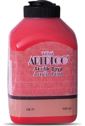 Artdeco Akrilik Ahşap Boyası 500 ml 3616 Kırmızı