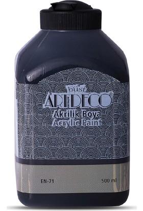 Artdeco Akrilik Ahşap Boyası 500 ml 3618 Siyah