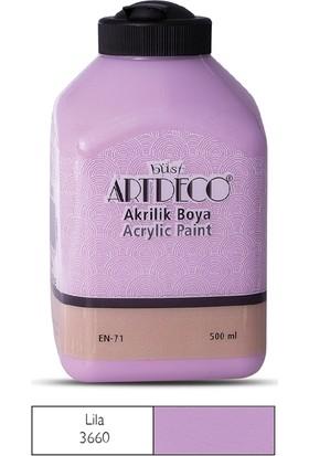 Artdeco Akrilik Ahşap Boyası 500 ml 3660 Lila