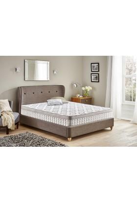 Sleeppeople Relax Paket Yaylı Visco Yatak 90X190 + Visco Yastık