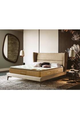 Sleeppeople Prestige Paket Yaylı Latex Yatak 90X190 + Visco Yastık