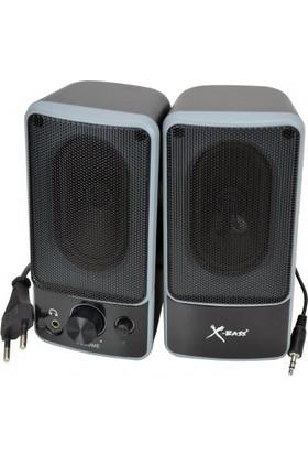 Powerstar X-Bass Xbeat-Speakers Hoparlör 1+1