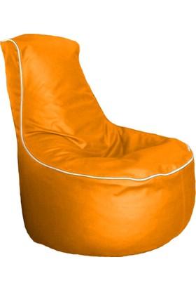 Hip Chik Chairs – Klasik Suni Deri Armut Koltuk