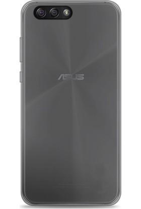 Microcase Asus Zenfone 4 ZE554KL İnce Soft Silikon Kılıf + Tempered Cam