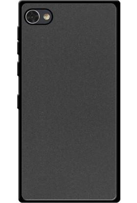 Microcase Blackberry Motion Krypton Siyah Renk Mat Soft Silikon Kılıf