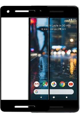 Microcase Google Pixel 2 3D Cruved Tam Kaplayan Tempered Cam