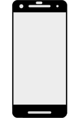 Microcase Google Pixel 2 Tam Kaplayan Tempered Glass Cam Ekran Koruyucu