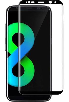 Microcase Samsung S8 Plus 3D Curved Full Ekran Tempered Glass Cam Koruma