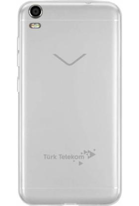 Microcase Vestel Venüs V5 Ultra İnce Şeffaf Soft Silikon Kılıf
