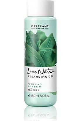 Oriflame Love Nature Çay Ağacı Özlü Yüz Temizleme Jeli 150 ml