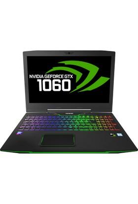 "Monster Tulpar T5 V17.1 Intel Core i7 8750H 8GB 256GB SSD GTX1060 Freedos 15.6"" FHD Taşınabilir Bilgisayar"