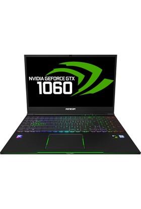 "Monster Tulpar T5 V18.1 Intel Core i7 8750H 8GB 256GB SSD GTX1060 Freedos 15.6"" FHD Taşınabilir Bilgisayar"