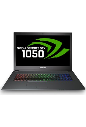 "Monster Abra A7 V8.1.2 Intel Core i7 8750H 16GB 1TB + 256GB SSD GTX1050 Windows 10 Home 17.3"" FHD Taşınabilir Bilgisayar"