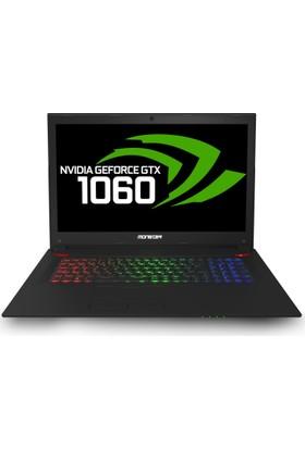"Monster Tulpar T7 V16.1.1 Intel Core i7 8750H 16GB 1TB + 256GB SSD GTX1060 Windows 10 Home 17.3"" FHD Taşınabilir Bilgisayar"