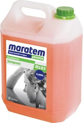Maratem M103 Saç Şampuan Floral 5 Lt
