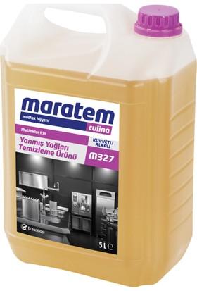 Maratem / M327 Yanmış Yağları Temizleme Ürünü 5 L