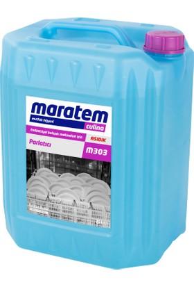 Maratem-Culina M303 Endüstriyel Bulaşık Makinaları İçin Parlatıcı 20Lt