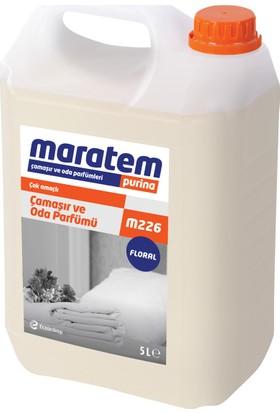 Maratem M226 Çamaşıroda Parfümü Floral 5 Lt