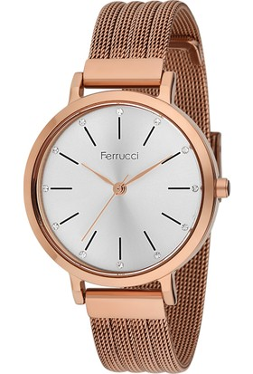 Ferrucci Fc12240H.03 Hasır Kordonlu Kadın Kol Saati