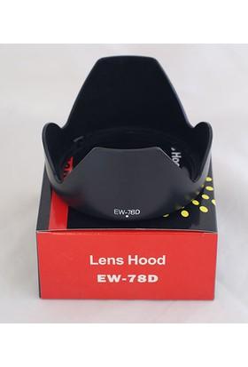 Ayex Canon 18-200Mm- 28-200Mm Lens İçin Ew-78D Parasoley