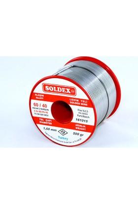 Soldex 60-40 Lehim Teli 500 Gr 0.75 mm