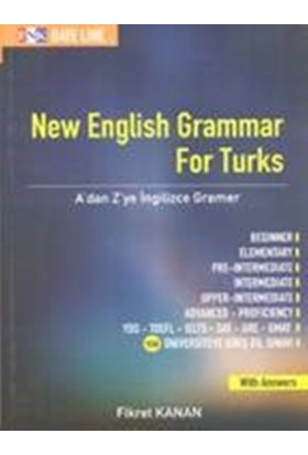 New English Grammar For Turks:A'dan Z'ye İngilizce Gramer - Fikret Kanan