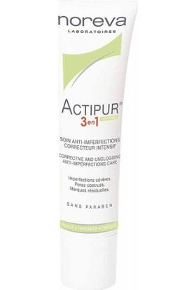 Noreva Actipur İntensive Anti-Imperfection Care 3 in 1 30ml
