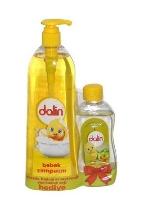 Dalin Bebek Şampuanı 750 ml+Bebek Yağı 200 ml Avokado,Badem ve Zeytinyağlı