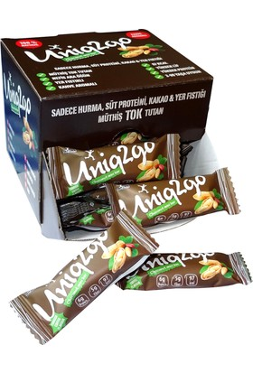Uniq2go Choco Nut Mini Bar 24'lü Kutu