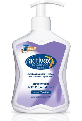Activex Antibakteriyel Sıvı Sabun 300 ml Hassas 300