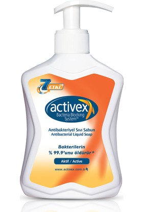 Activex Antibakteriyel Sıvı Sabun 300 ml Aktif 300