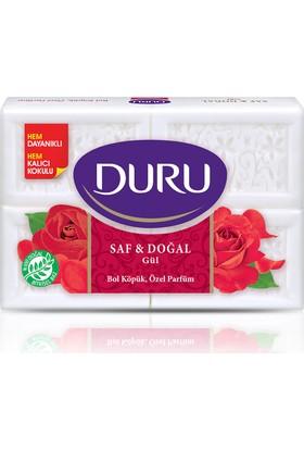 Duru Saf&Doğal Kalıp Sabun Gül 4x150 600gr
