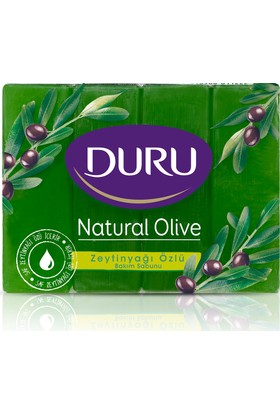 Duru Natural Olive Zeytinyağlı Kalıp Sabun 4x160gr 640gr