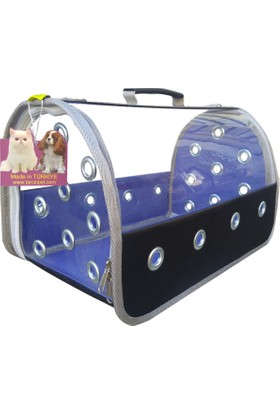 Tarçınpet Kedi Taşıma Çantası Şeffaf EKO Flybag
