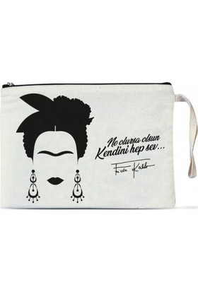 Clutch Çanta - Frida Kahlo 1 adet