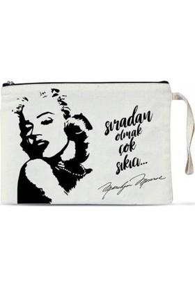Clutch Çanta - Marilyn Monroe 1 adet