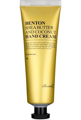 Benton Shea Butter And Coconut Hand Cream - Shea Butter Hindistan Cevizi Ekstreli El Kremi