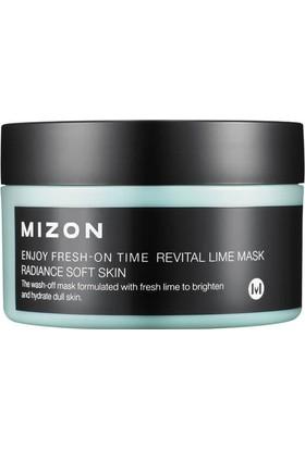 Mizon Enjoy Fresh-On Time Revital Lime Mask - Limon Ekstreli Canlandırıcı Işıltı Artırıcı Maske