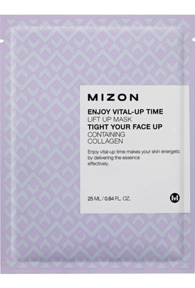 Mizon Enjoy Vital-Up Time Lift Up Mask - Yaşlanma Karşıtı Kolajen Maske