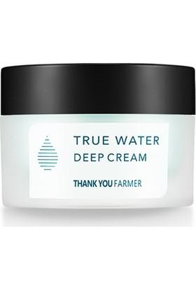 Thank You Farmer True Water Deep Cream - Derinlemesine Nemlendirici Krem