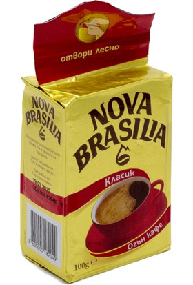 Nova Brasilia Klasik Filtre Kahve 100 Gr.