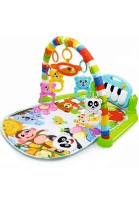 Huanger Müzikli Piyanolu Bebek Oyun Halısı