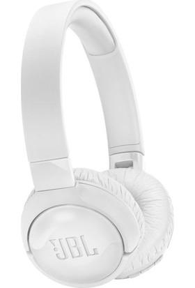 JBL T600BTNC Mikrofonlu Aktif Gürültü Önleyici Kulaküstü Beyaz Kulaklık